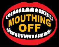 Mouthing off logo