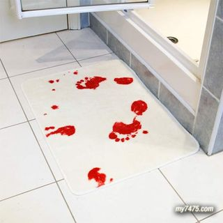 Blood bathmat