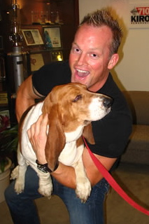 Don O'neil with beagle