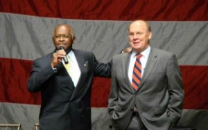 Herman-cain-shoulder-boortz-300x187